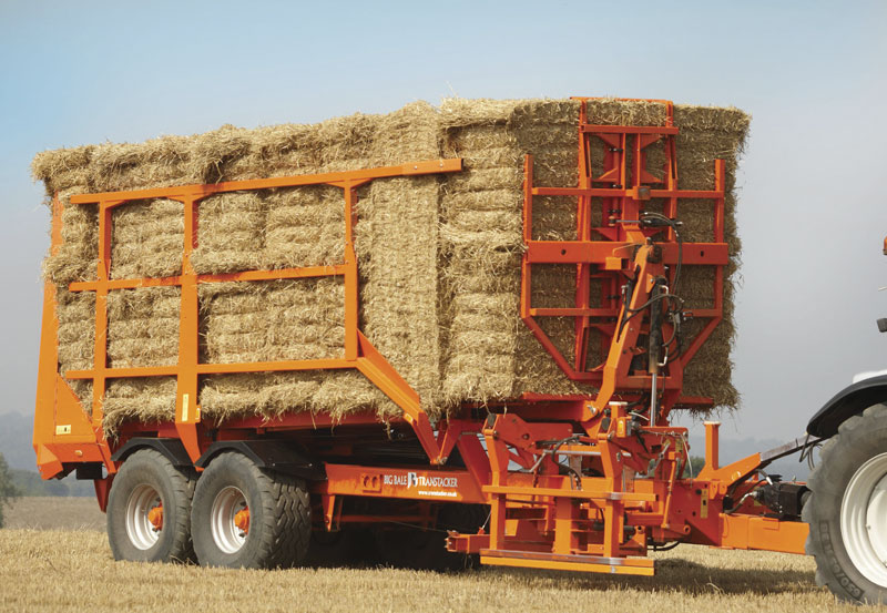 Auto Stacking Bales | Autos Post